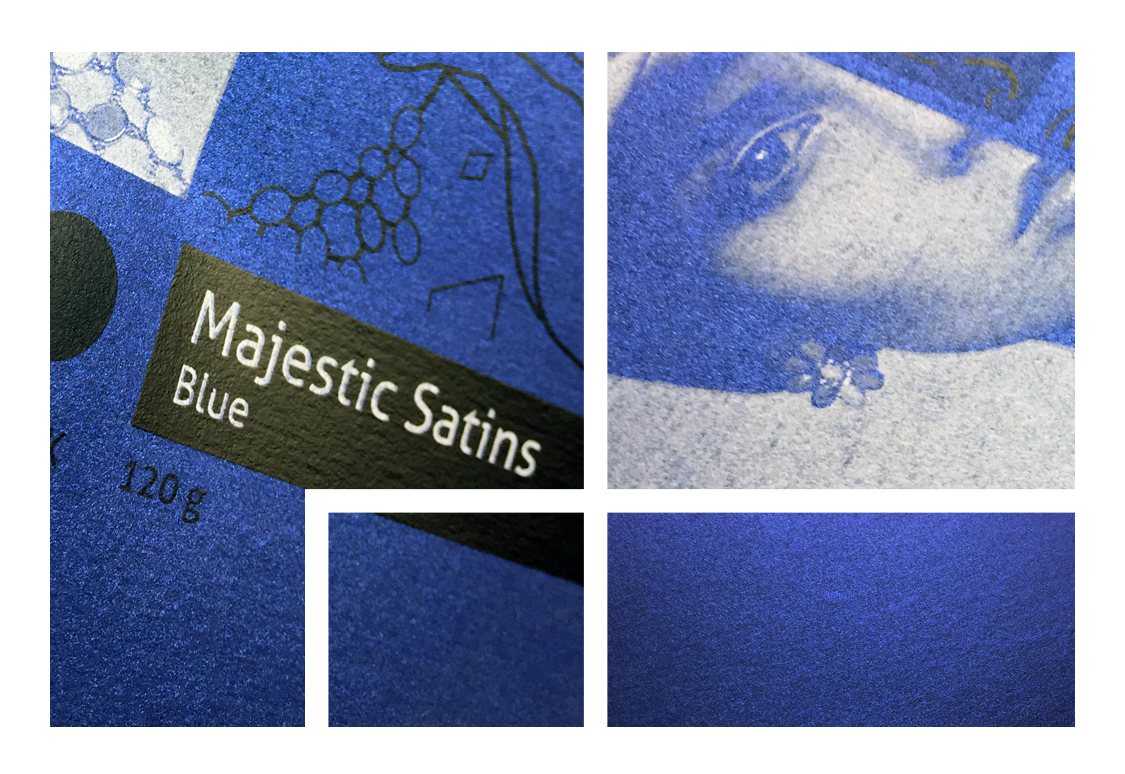 Majestic Satins Blue 120 g