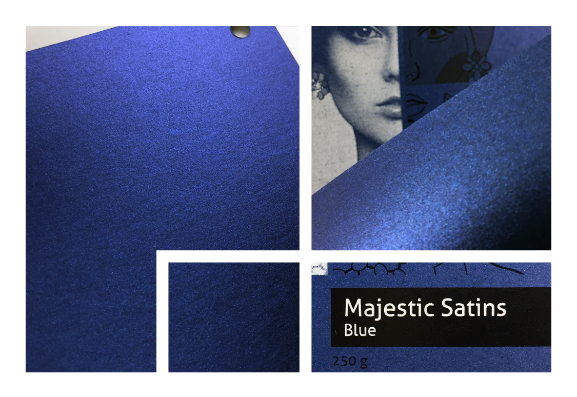 Majestic Satins Blue 250 g